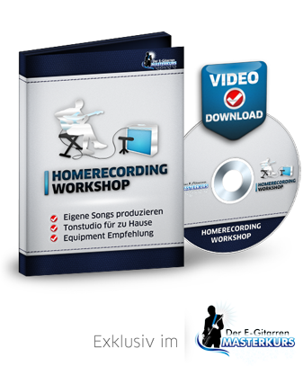 Homerecording Workshop Videokurs Onlinekurs