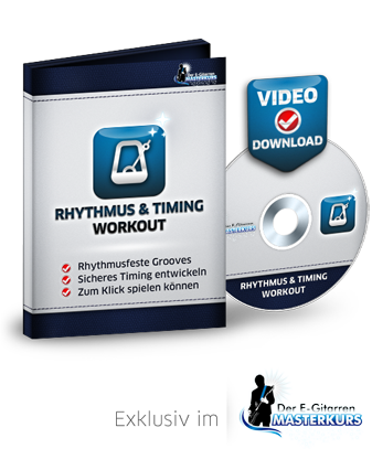 Rhythmus Timing Workout Gitarrenkurs Videokurs