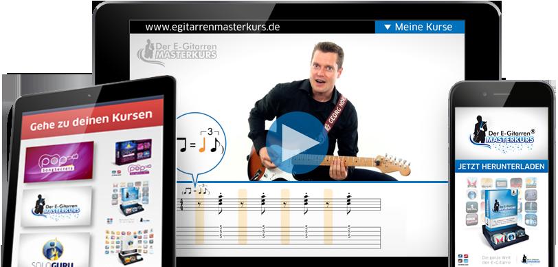 Der E-Gitarren Masterkurs von Georg Norberg